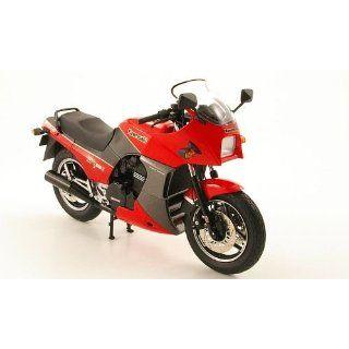 Kawasaki GPZ 900R Ninja, rot, Modellauto, Fertigmodell, Wits 112