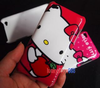 Hello Kitty Hard Case Cover for iPod Touch 4G 4th 4 Gen 8GB 16GB
