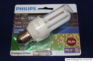 Philips LONGLIFE 11W50W E27 cool daylight EAN 8727900903454