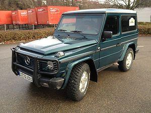 Mercedes Benz G320 Baureihe W463 Baujahr 1995 Rammschutz Klima Leder