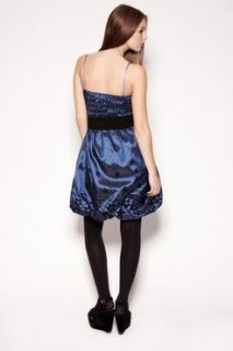 LUXUS LONDON VINTAGE BANDEAU COCKTAIL ABIBALL KLEID KONFIRMATION