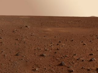 Rocky Surface of Mars Photographic Print by Stocktrek Images