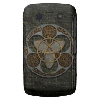 Celtic Trinity Shield Blackberry Cases