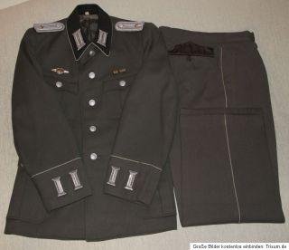 NVA Ausgang Parade Uniform Offizier 1956/60 mit Hose lang   KVP DDR