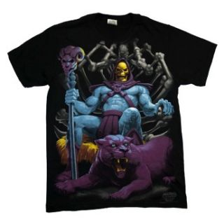 He Man And The Masters Of The Universe Skeletor Throne Cartoon T Shirt