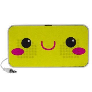 Super Cute anime Kawaii cutie face! NP speakers by JazzyDesigner