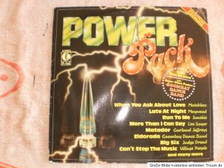 Vinyl LP   Power Pack   K Tel   TG1299   1980 Germany