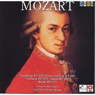 KV 488, Fantasia KV 475, Adagio KV 261, Rondo KV 373 Musik