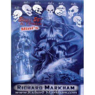 Mini   Skull Schablonen Set 262 842 Airbrush Schablone
