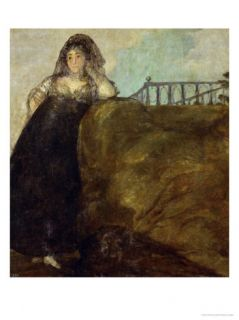 Dona Leocadia Zorrilla, Goyas Companion During the Last Few Years of His Life Giclee Print by Francisco de Goya