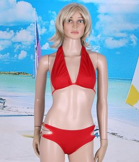 Women Sexy Lingerie Bikini Swimsuit Swimwear Red H2812