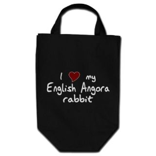 English Angora Rabbit Bag