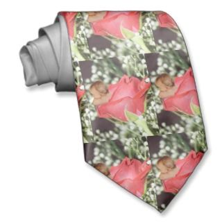 Rose Flower Baby Necktie
