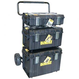 DeWalt 1 70 349 Toughsystem Komplett mit Trolley und Tough Box DS150