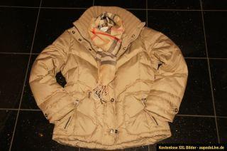 3840 Jacke ESPRIT Damen Daunen ML hell blau Winterjacke QCdBoreWx