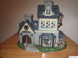 Partylite Teelichthaus Old World Village 1 Candle Shoppe
