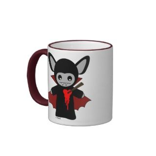 Cute Vampire Bat Mugs