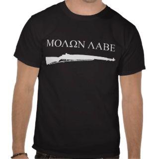 Garand, Molon Labe shirt