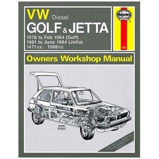Volkswagen Diesel Golf 1978 84, Jetta 1981 84, 1471c.c., 1588c.c