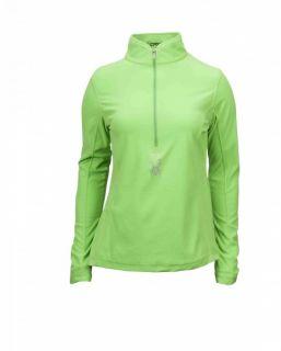 Original Spyder Damen Skirolli Dry W.E.B. Wink T Neck green flash