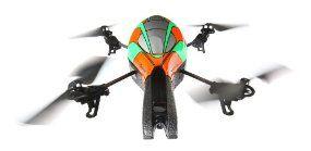Parrot AR.Drone   Quadrocopter für iPhone/iPad/iPod touch, grün, mit