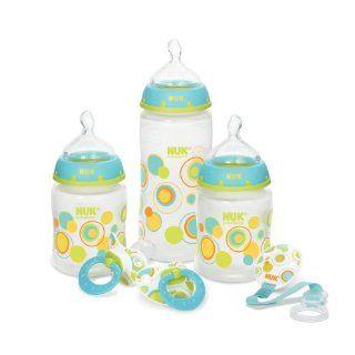 NUK / Gerber   Starter Bottle Set, Babyflaschen Set & Schnuller Pink