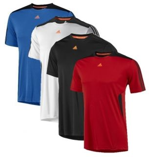 Adidas Herren Trainings Laufshirt T Shirt Clima365 Tee Climacool 3S
