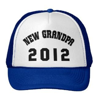 New Grandpa 2012 T Shirts Gifts Cards Hat