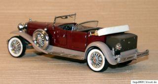 1930 er Duesenberg J Derham Tourster 124 Franklin Mint