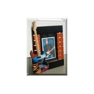 ERIC CLAPTON Miniatur Gitarre Foto Rahmen Crash 2