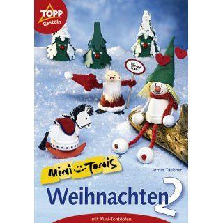 Mini Tonis, Weihnachten aus Mini Tontöpfen Armin Täubner