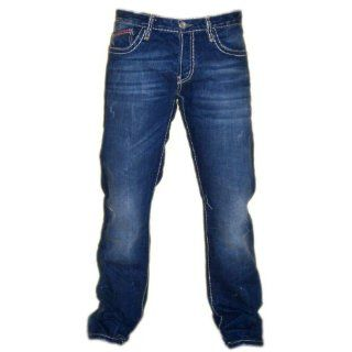 Redbridge / Cipo & Baxx Clubwear Herren Jeans RB 92 denim blue mit
