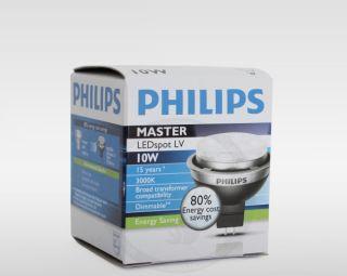 Philips MASTER LEDspot LV 10W 50W 93442700 GU5.3 dimmbar 3000K