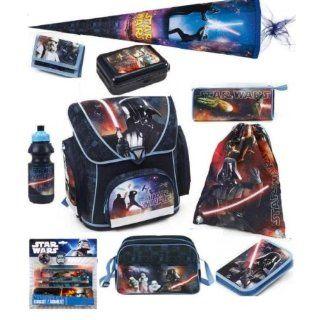 Star Wars Schulranzen Set 15tlg. mit Sporttasche + Schultüte