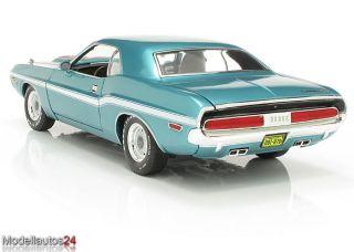 Greenlight 118 Dodge Challenger R/T 1970 blau türkis