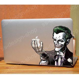 Joker Batman Aufkleber Decal Sticker für Apple MacBook Pro Unibody