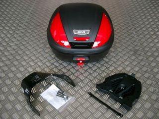 GIVI E370N Topcase + Alu Rack YAMAHA XT 660 Z Tenere