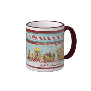 Gingerbread Train Candy Cane, Grandpa Coffee Cup Coffee Mugs