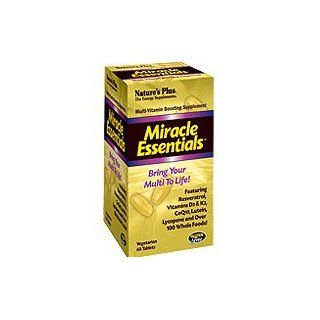 Natures Plus Miracle Essentials Tablets Multi Vitamin Booster , 60