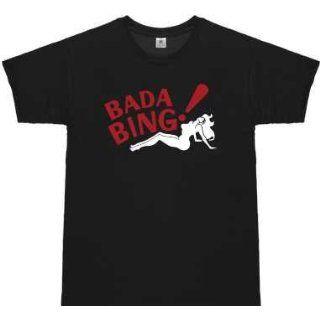 The Sopranos T Shirt Bada Bing  Größe XL   Strip Club New Jersey