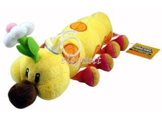 Nintendo Super Mario Brothers Bros 11 Wiggler Caterpillar Plüsch
