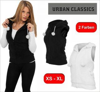 Urban Classics Ladies Teddy Vest Damen Weste mit Teddyohren XS   XL 2