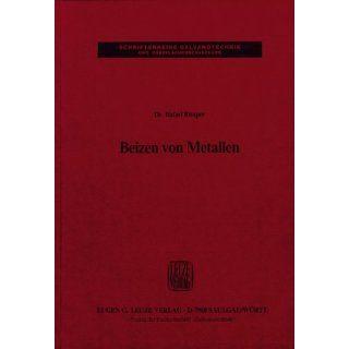 Beizen von Metallen Rafael Rituper Bücher