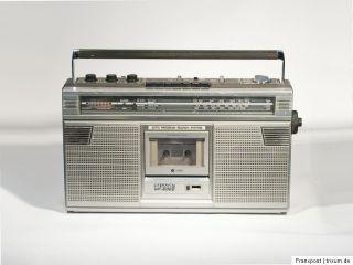 SHARP GF 6060 STEREO RADIORECORDER RADIO GHETTOBLASTER BOOMBOX