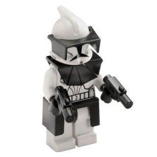 LEGO Star Wars Minifigur   Clone Wars   Clone Commander mit Pistolen