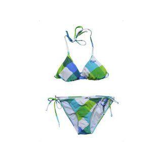 Roxy Damen Bikini Born to B Wild Cha Cha Tie Sides Sport