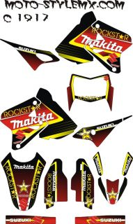 Suzuki DRz 400 99 10 graphics kit sticker deco dekor