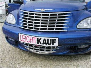 CHRYSLER PT CRUISER 2001 2006 KÜHLERGRILL 2 TEILIG IN CHROM