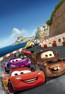 Fototapete Poster XXL 1 402 Disney Pixar Cars Italy 127 x 184 cm