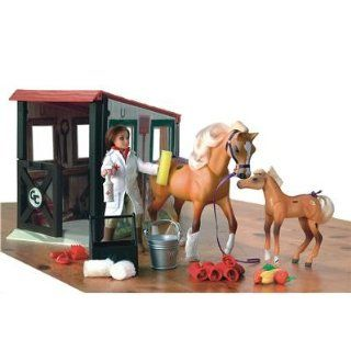 Grand Champions   Tierarzt Set mit Pflegebox Spielzeug